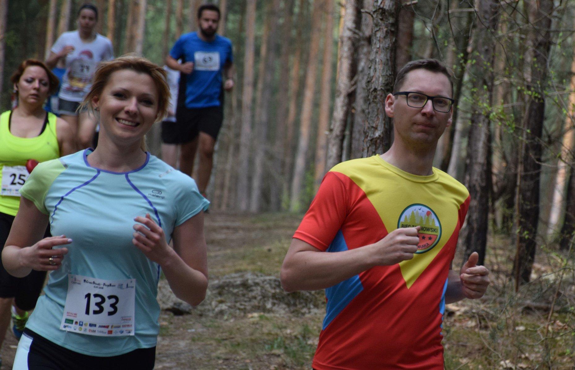 bieganie z kolegą